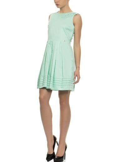 4G Elbise Yeşil